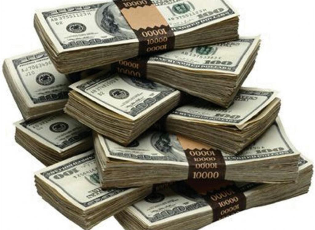 Üç yıllık periyotta alınacak maaş tutarını dolar cinsinden %7 fazlasını gösteren anonim görseldir